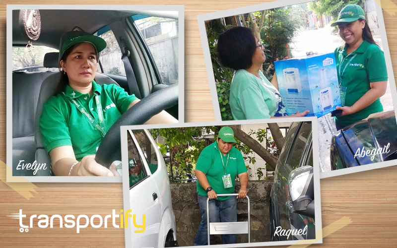 Female Drivers - Transportify Philippines - Same Day Delivery - Lalamove - Mober