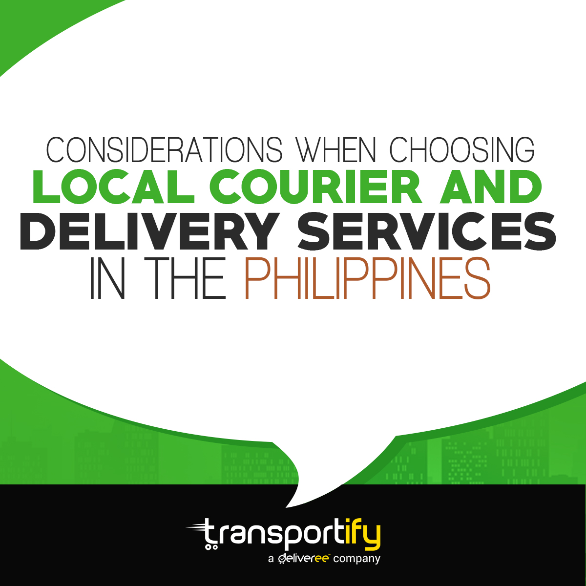 Local Courier - Service Delivery - Transportify - Same Day Delivery - Security - Affordability - Speed - Lalamove - Mober