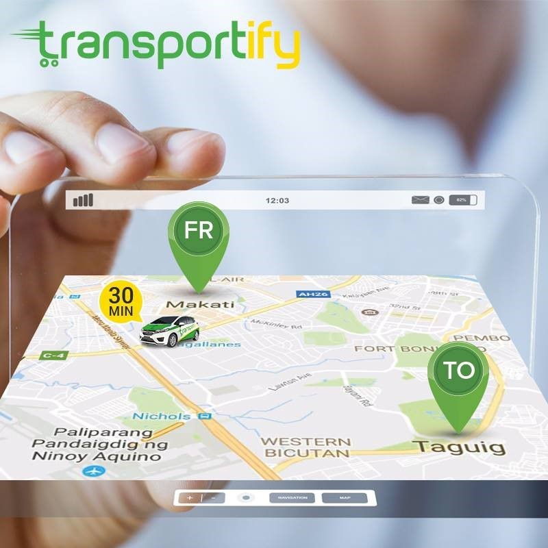 Transportify - Track And Trace Delivery - Track Package - Delivery Mobile App Delivery App - Lalamove - Mober