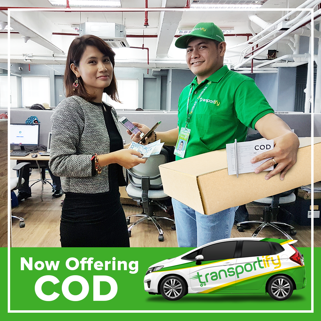 transportify, transportify app, cash on delivery philippines, 3pl, delivery driver partners, on demand delivery app, courier and delivery services, motorbike