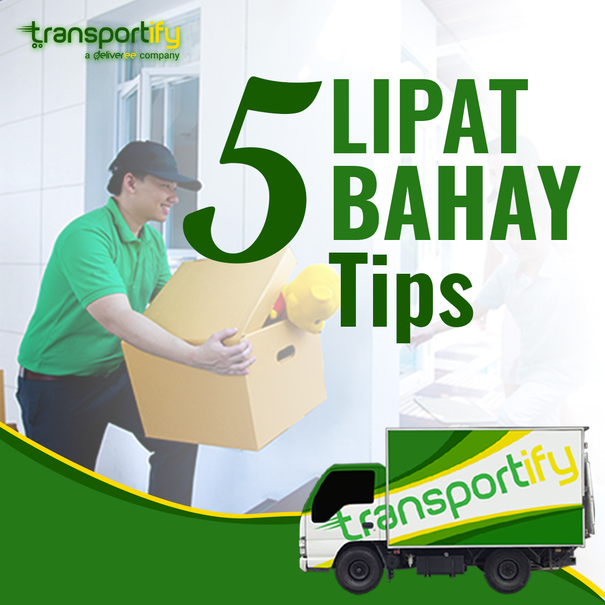 transportify, lipat bahay, transportation delivery services, on demand delivery app, delivery manila