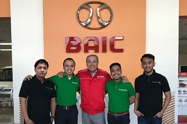 BAIC, partnership, baic philippines, lalamove, mober, transportify philippines, delivery app, delivery service