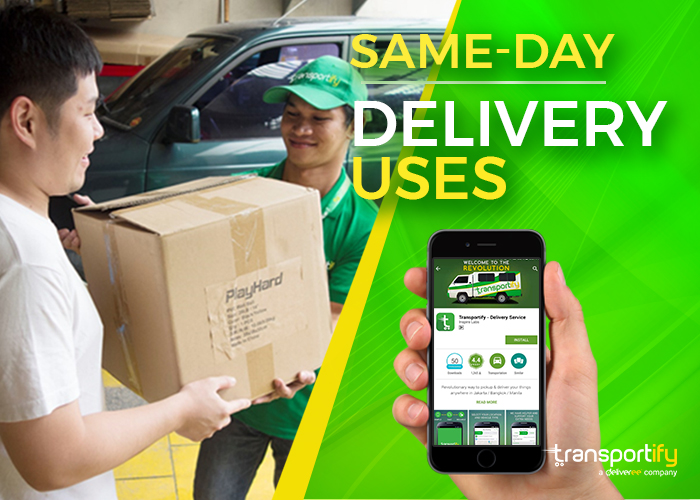 transportify, same day delivery parcel, same day delivery app, cheap parcel delivery, local same day delivery