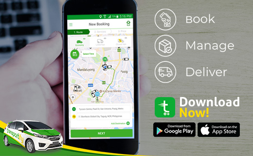Transportify App, delivery mobile app, local same day delivery, third party delivery Philippines, Transportify Driver Partner, courier rates philippines