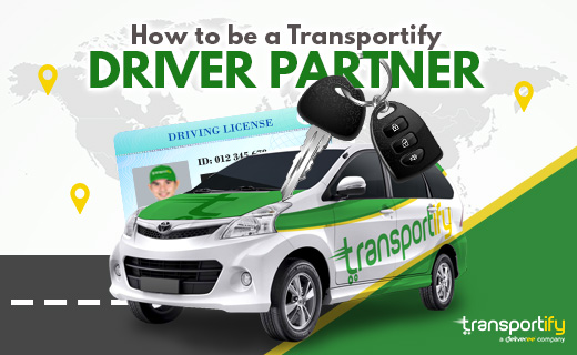 Transportify, delivery driver partners, Transportify Driver Partner, sedan for delivery service, delivery company, app for delivery service