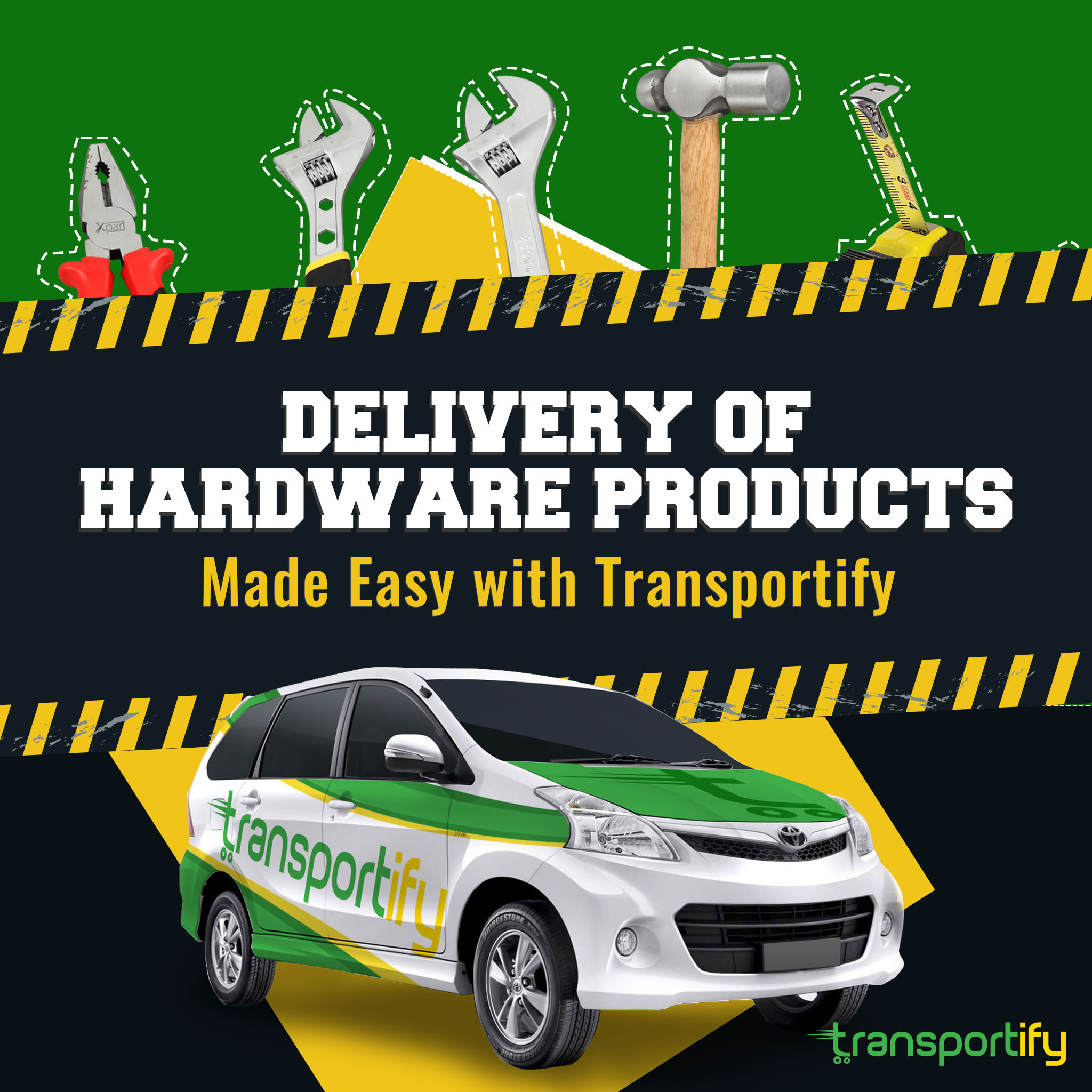 Delivery of Hardware Products Made Easy with TransportifySocial Media image