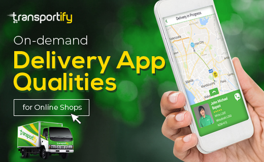 On-demand Delivery App Qualities for Online Shops Featured Image V2
