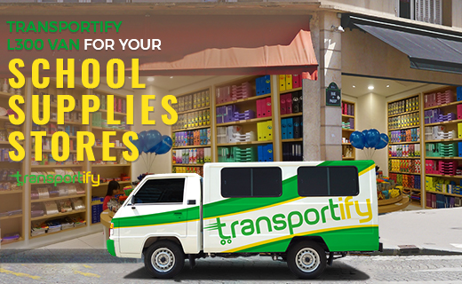 Transportify L300 Van for Delivery for School Supplies Stores Featured I...