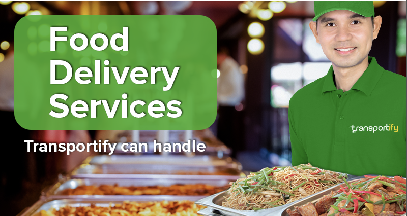 transportify, on-demand app, driver partner, food delivery service, fast delivery,