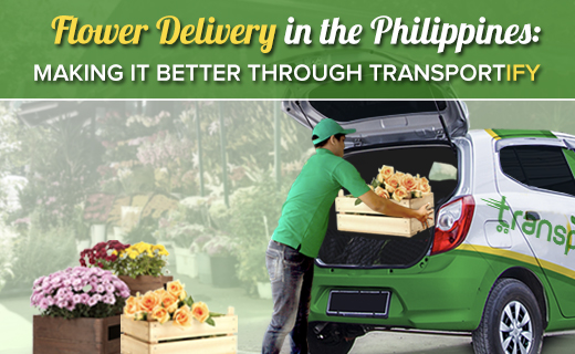 Flower Delivery in the Philippines: Making It Better Through Transportify