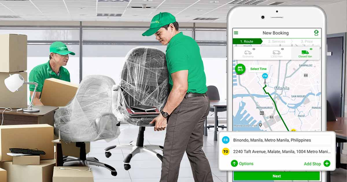 Movers App Office Relocation Services