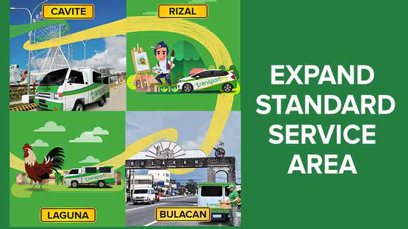 Transportify Expands Standard Service Area Main