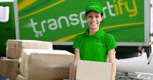 Female Delivery Driver in Logistics Industry (2020 Tren...