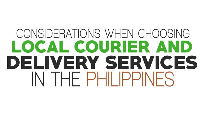 Considerations when Choosing Local Courier and Delivery Services in the Philippines Main