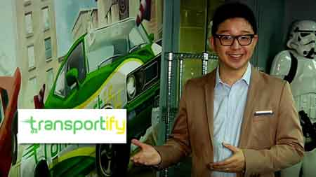 Bright Ideas TV show features Transportify PH