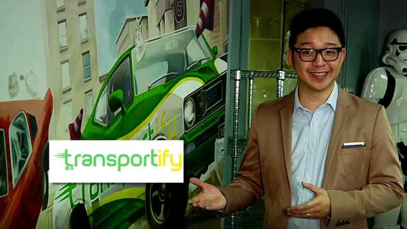 Bright Ideas TV show features Transportify PH Main