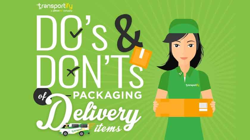 Do's and Don'ts of Packing Delivery Items Main