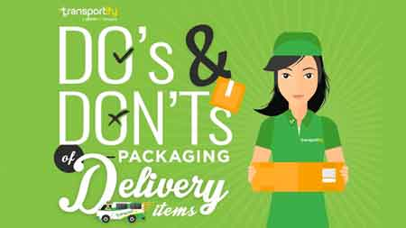 Do's and Don'ts of Packing Delivery Items