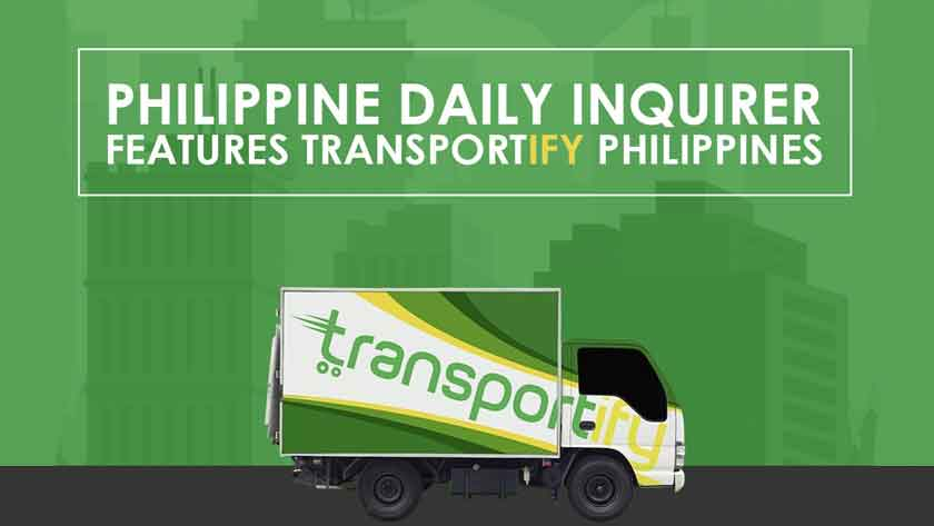 Philippine Daily Inquirer Features Transportify Philippines