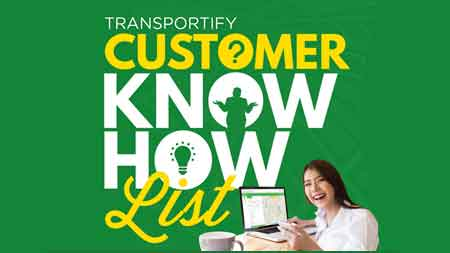 Transportify Customer Know-How List
