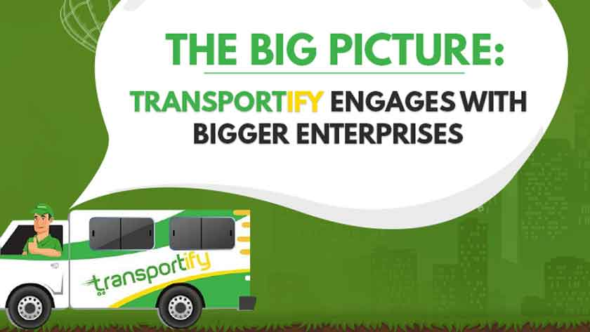 Transportify Engages with Bigger Enterprises