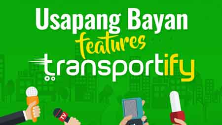 Usapang Bayan Features Transportify