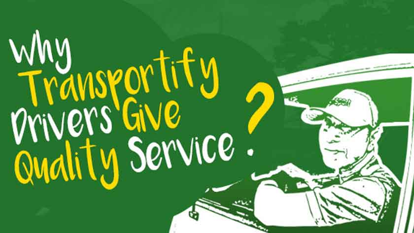 Why Transportify Drivers Give Quality Service