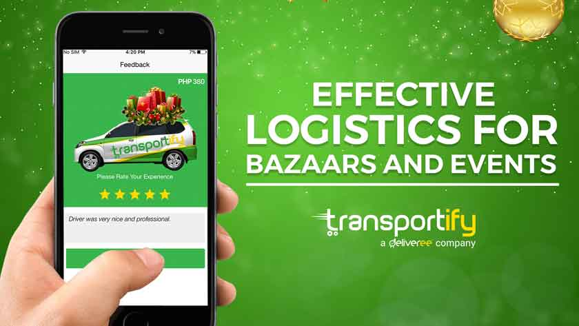 Effective Logistics for Bazaars and Events Main