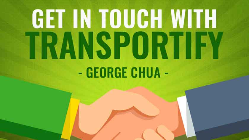 George Chua Get in touch with Transportify