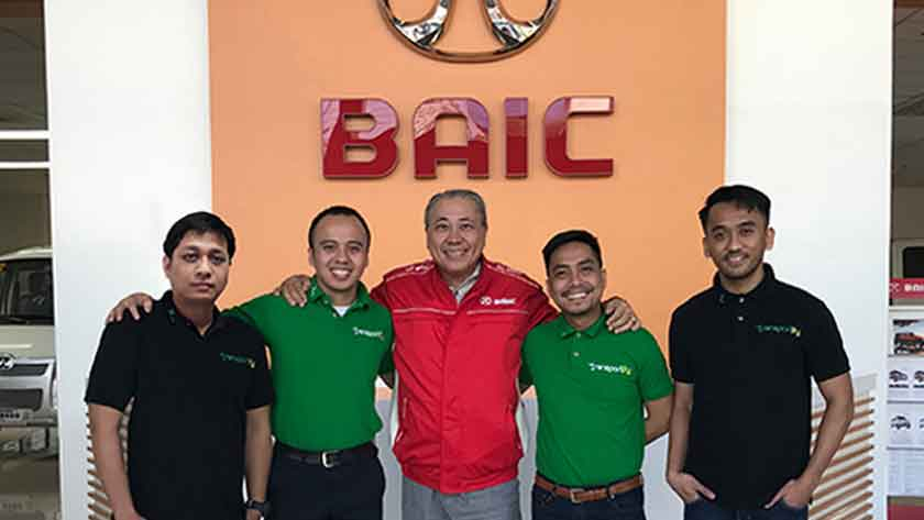 Transportify Partners with BAIC Philippines endorsing the H5 Bayanihan