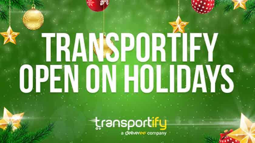 Transportify open on holidays