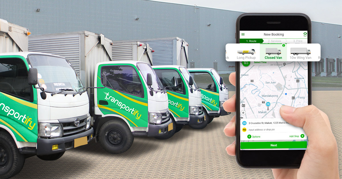 App to Rent Truck Services Philippines