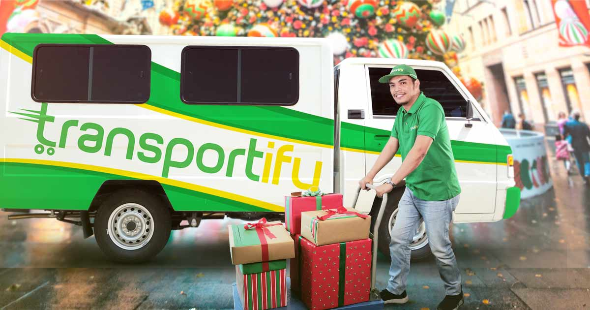 Courier Company Christmas Rush