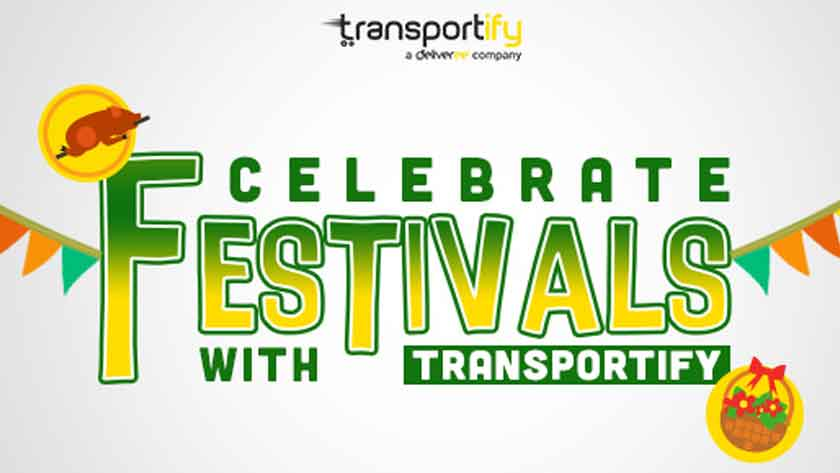 Celebrate Festivals with Transportify! Main