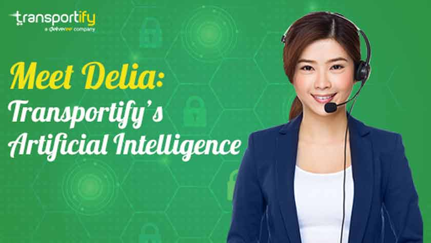 Meet Delia Transportify Artificial Intelligence