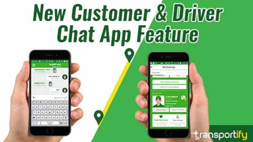New Customer & Driver Chat App Feature
