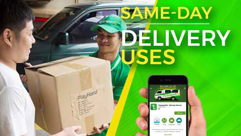 Same-Day Delivery Uses