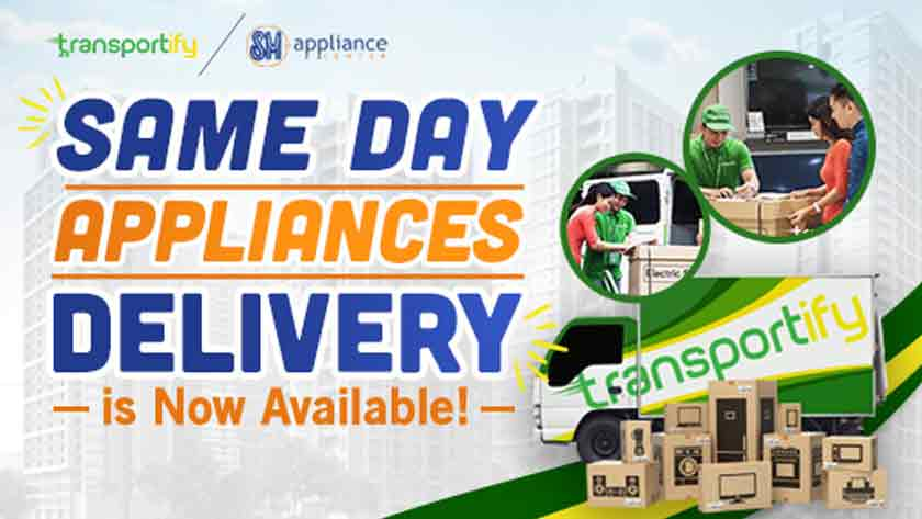 Same-day Appliances Delivery is Now Available