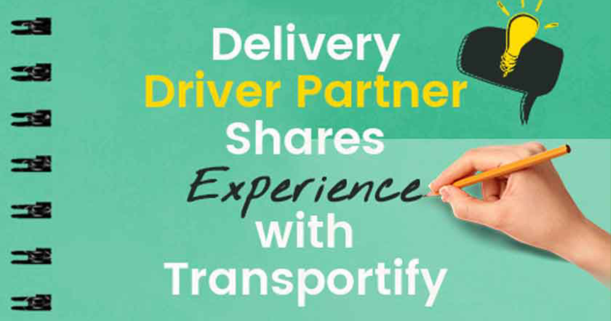 Transportify Driver Earnings on Delivery