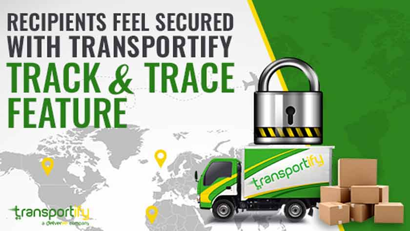 Recipients Feel Secured with Transportify Track & Trace Feature Main