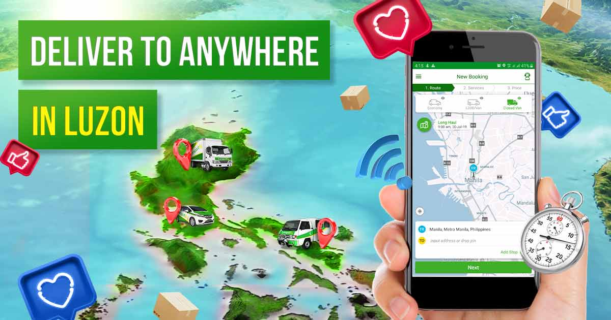 Download The Best App For Delivery Truck Hire