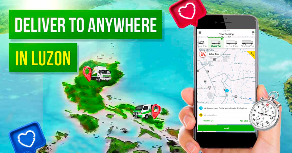 Download App for Delivery Truck Hire