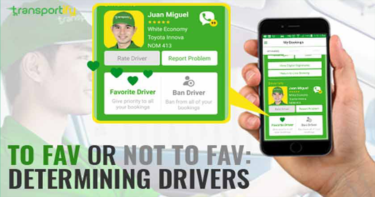 Truck Service App's Ban or Favorite Driver