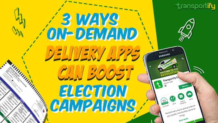 3 Ways On-Demand Delivery Apps Can Boost Election Campaigns Main