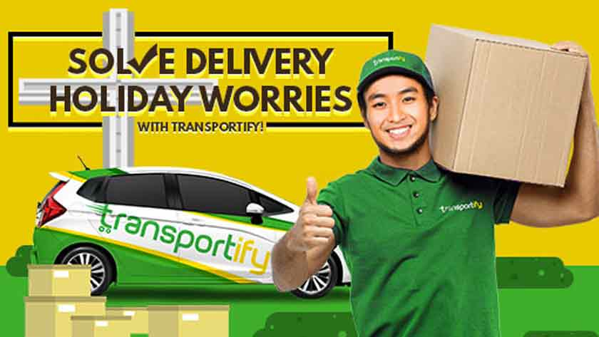 Solve Delivery Holiday Worries with Transportify Main