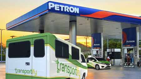Transportify: Now Powered by Petron