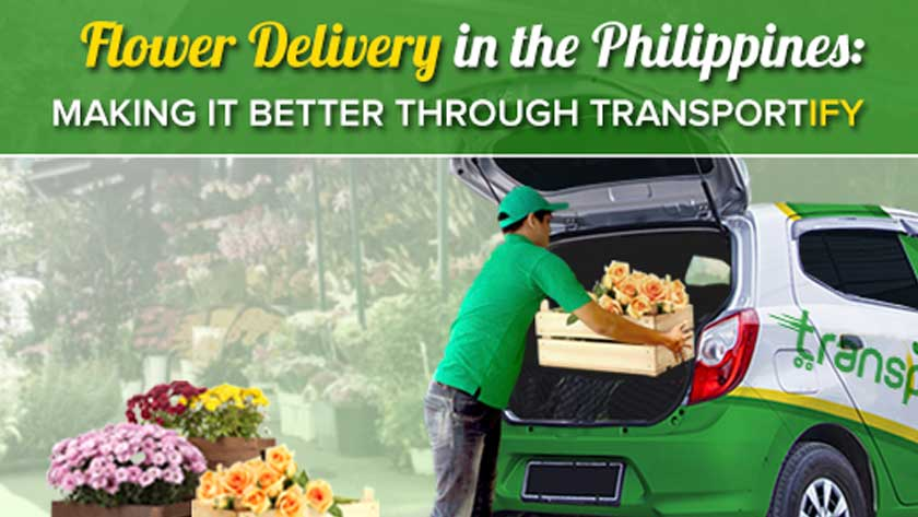 Flower Delivery in the Philippines Making It Better Through Transportify