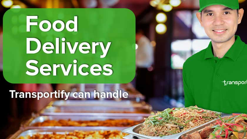 Food Delivery Services Transportify Can Handle