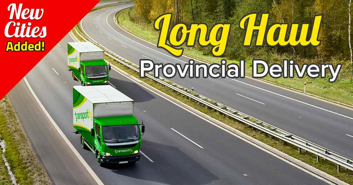 Transportify Long Haul Delivery Services