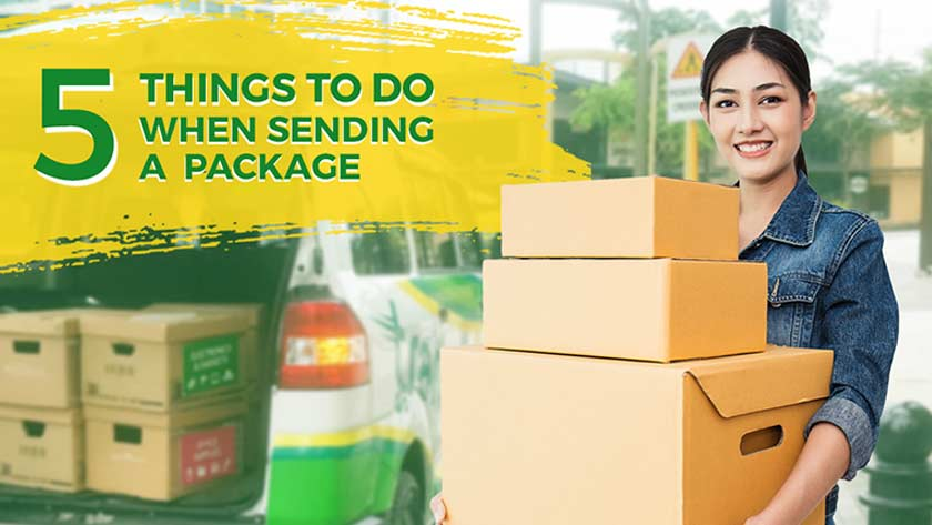 5 things to do when sending a package main